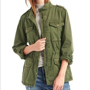 GAP women's utility jacket. Worn once. Sz medium